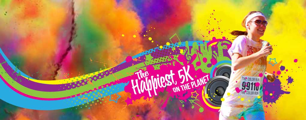 the color run mamaia 2014