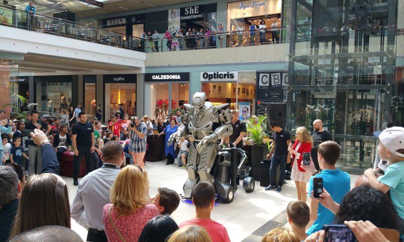 Titan the Robot a ajuns la Constanța