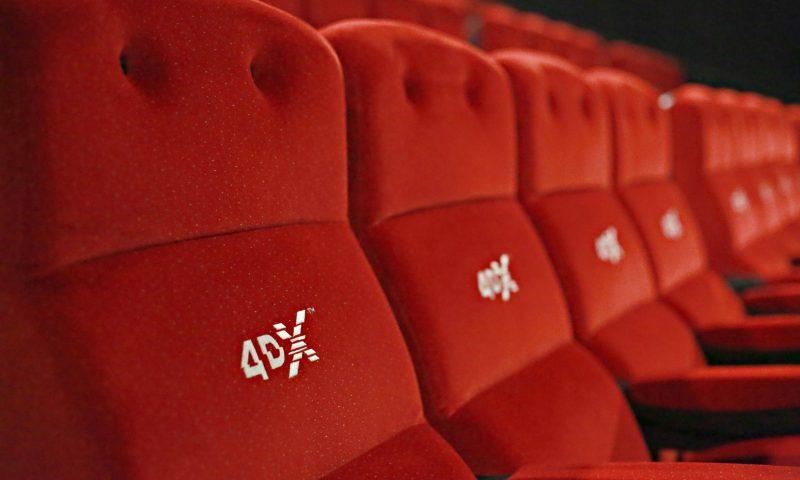 Simte filmul cu 4DX la Cinema City  – City Park Mall Constanța