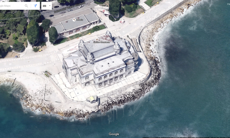 România 3D cu Google Maps