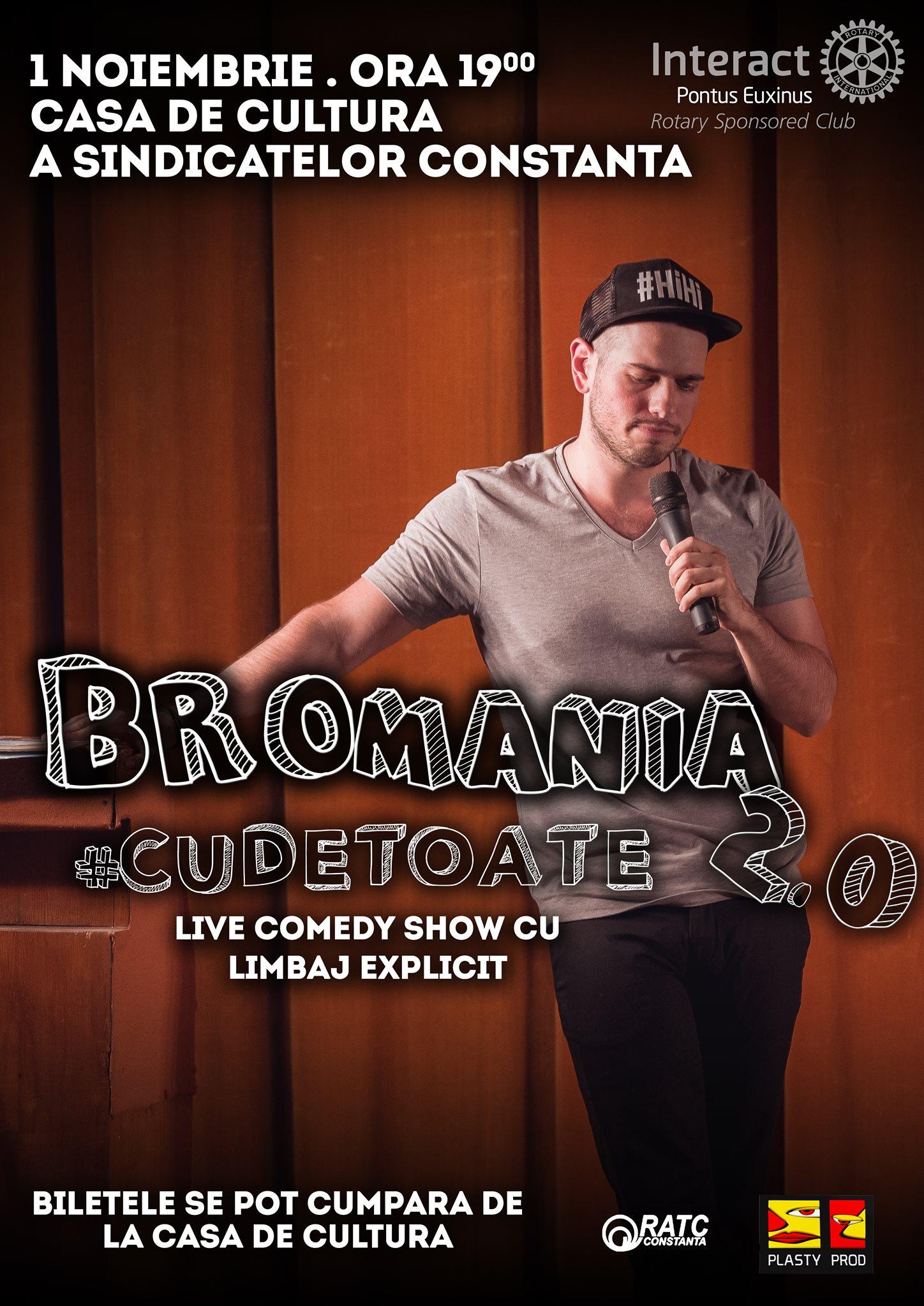 BRomania la Constanta, Live Comedy Show #CuDeToate