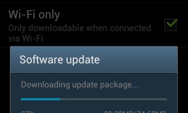 Samsung Galaxy S3 – Firmware update