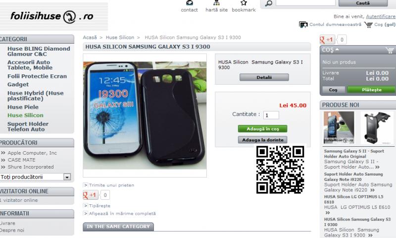 Folii si huse Samsung Galaxy S III