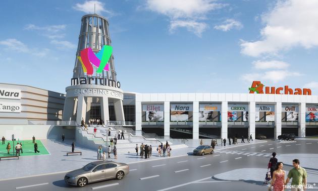 Maritimo Shopping Center din Constanta se deschide în 28 octombrie